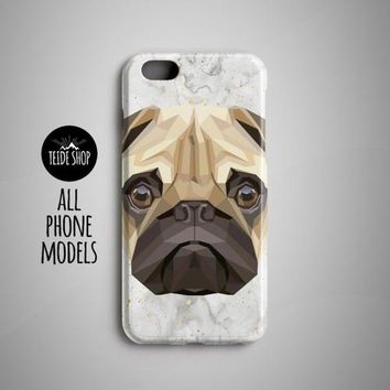Geometric Pug iPhone 8 Plus Case iPhone 8 Case