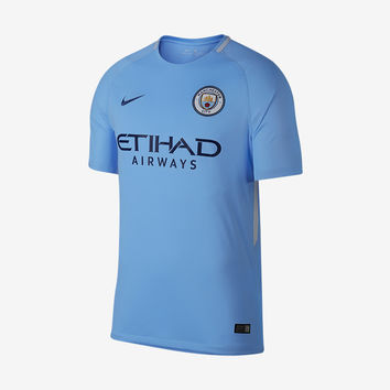 Manchester City 2017-18 Home Jersey