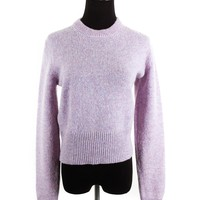 Acne Studios Lilac Speckled Sweater