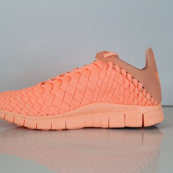 BC QIYIF Nike Free Inneva Tech SP Sunset Glow Kumquat 705797-888