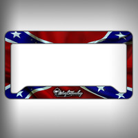 Rebel Custom Licence Plate Frame Holder Personalized Car Accessories