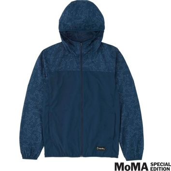 MEN SPRZ NY LIGHT POCKETABLE HOODED JACKET (KEITH HARING) | UNIQLO
