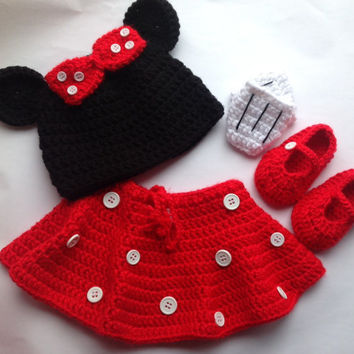 1287c0c139d Best Minnie Mouse Crochet Set Products on Wanelo
