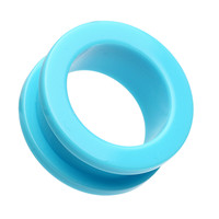 Neon Colored Acrylic Screw-Fit Ear Gauge Tunnel Plug