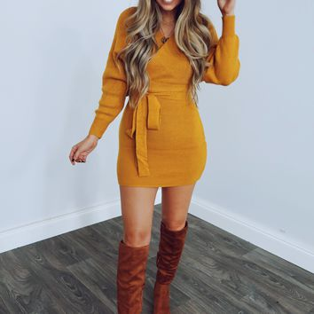 Picture Perfect Dress: Honey