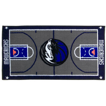 NBA Dallas Mavericks Rug Basketball Runner Carpet