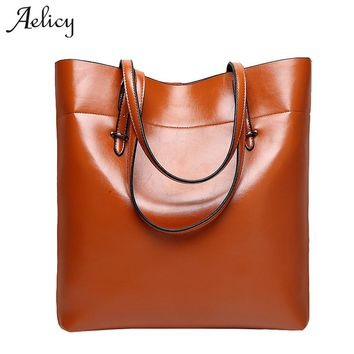 Aelicy High Quality PU Leather Handbags Famous Brand Bag Women Luxury Crossbody Bags With Cell Phone Pocket
