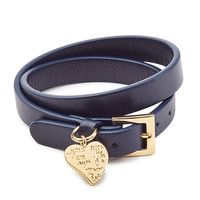 Valentino - L'Amour Leather Bracelet