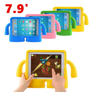 7.9 inch Silicone Thick Foam Shock Proof Soft Stand Case 3D Cute Cartoon Kids Cover for ipad mini 2 CASE mini case for kids