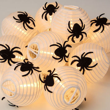 Spider Lantern String Lights