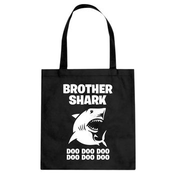 Brother Shark Cotton Canvas Tote Bag