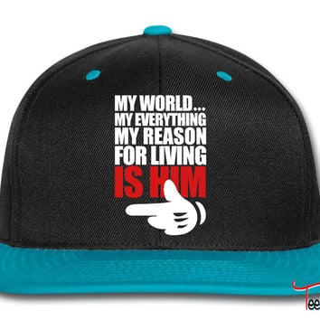 my world is him Snapback