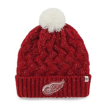 NHL Detroit Red Wings Fiona Knit Hat