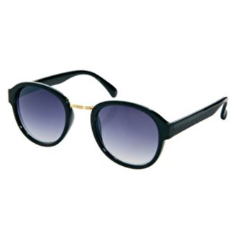 Jeepers Peepers Round Sunglasses - Black