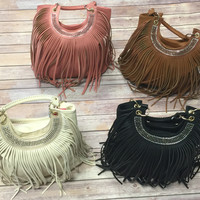 Fringe Purse: Multiple Colors
