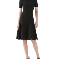 Gucci Merino Wool Knit Short Sleeve Dress