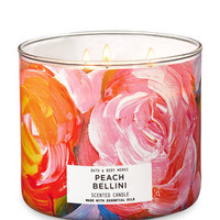 PEACH BELLINI3-Wick Candle