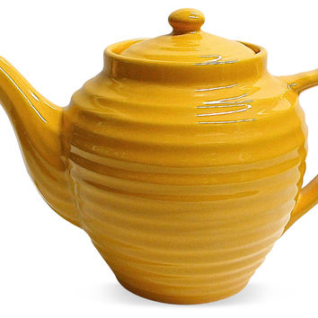 Bauer Ringed Teapot