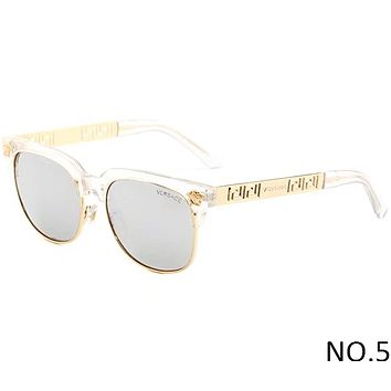 Versace Men's and Women's Tide Brands Fashionable High-Quality Sunglasses F-ANMYJ-BCYJ NO.5