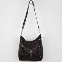 T-Shirt & Jeans Large Hobo Handbag Black One Size For Women 19440510001