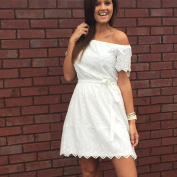 Forever Your Southern Belle Lace Dress