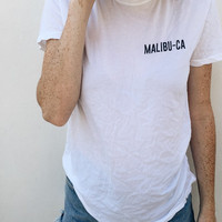 MALIBU-CA Women's Casual T-Shirt