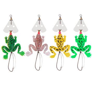 Soft Frog Fishing Lures
