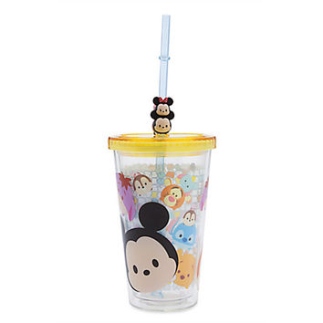 ''Tsum Tsum'' Tumbler with Straw