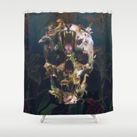 Kingdom Shower Curtain by Ali GULEC