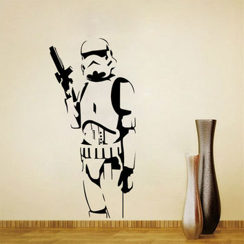 Starwars Living Room Bedroom Decoration Wall Sticker [7859723079]