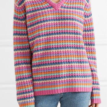 Marc Jacobs - Striped cashmere sweater