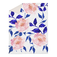 Gypsy Heart Floral Duvet Cover