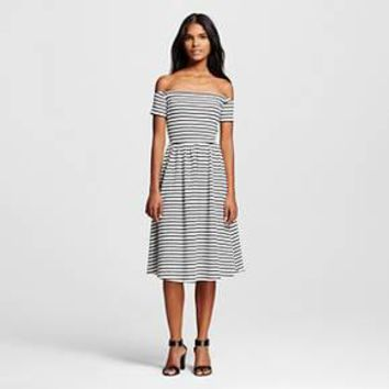 Women's Knit Bardot Dress - Who What Wear™
