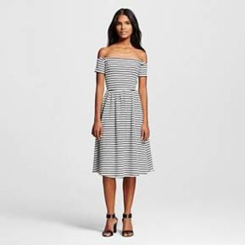 Women's Knit Bardot Dress - Who What from Target