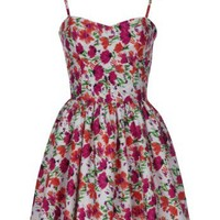 Lipsy 50's Floral Prom Dress