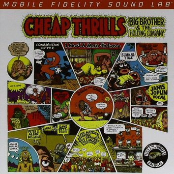 Big Brother & The Holding Company (Janis Joplin) - Cheap Thrills [SACD] (Hybrid SACD, limited/numbered)