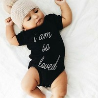 Newborn Kids Baby Jumpsuit Boys Girls Romper