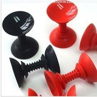 Jmt 50pcs Suction Cup Silicone Stand Holder and Earphones Cord Winder Function Mix Colors for Iphone4 4s 5