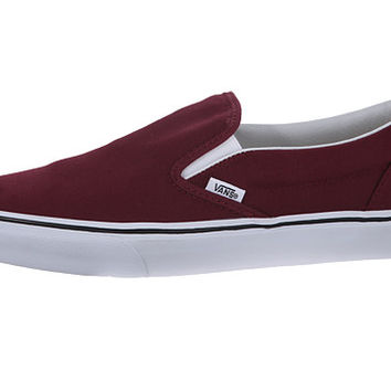 Vans Classic Slip-On™ Windsor Wine - Zappos.com Free Shipping BOTH Ways