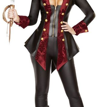 Captain Hook Women's Pirate Halloween Costume