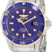 Invicta Men's 12809X Pro Diver Blue Dial Stainless Steel Watch