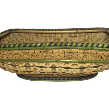 English Woven Basket