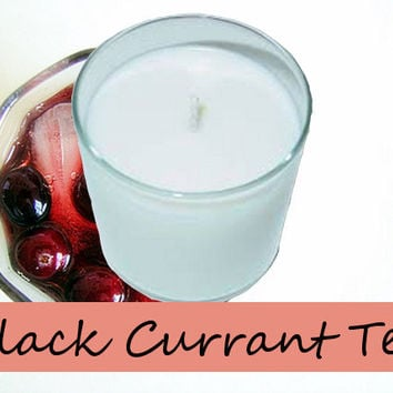 Black Currant Tea Scented Candle in Tumbler 13 oz