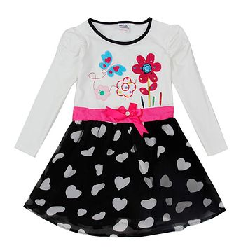 Dress  sleeve  dresses  girls  Clothes  children  clothi