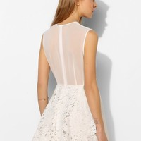 Keepsake Reach For The Sun Lace Fit + Flare Dress - Urban Outfitters