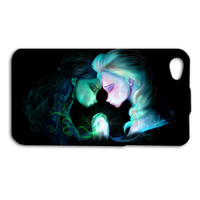 Disney Frozen Elsa Anna Pair Cute iPhone Case Gorgeous Pretty iPod Cover iPhone 4 iPhone 5 iPhone 5s iPhone 4s iPhone 5c iPod 4 Case iPod 5