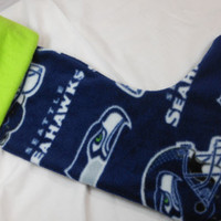 Seattle Seahawks Christmas Stocking, sure to be a hit with your Seahawks fan, stock it full of their favorite stuffers