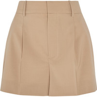 Chloé - Stretch-wool shorts