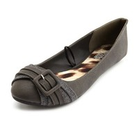 Buckle-Front Ballet Flat: Charlotte Russe