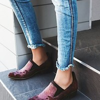 FP Collection Womens Monterey Western Shoe Boot